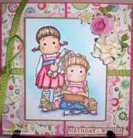 Happy 1st Birthday MDUC card by Booyagirl