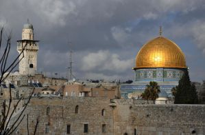 Dome of the Rock, Jerusalem Jan 2012 by dpt56