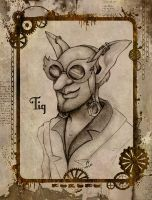 Tig the Goblin by mrinx