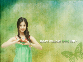 Maknae Love by suigintou-loever