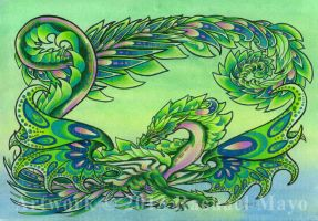 Spring Exuberance Dragon by rachaelm5