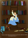 Belle: The Pagemaster by ADQuatt