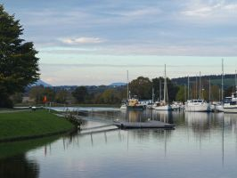 Caledonia Marina Inverness by piglet365