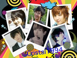 Leeteuk, Yesung, and Zhou Mi by crystalSHINee4evr