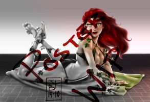 Poison Ivy WIP 3 by Bostonology