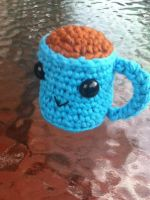 Coffee Cup - Blue by MathCrazy