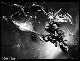 Gundam War by ChewyChunx
