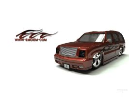 Emciems Escalade Flames by DigitalPhenom