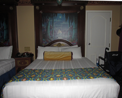 Bed and Frame with Fiberoptics 2 by WDWParksGal-Stock