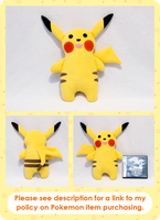 Pikachu Pook-e-Monz by cutekick