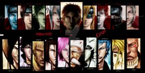 Naruto and bleach by MangaBoy11