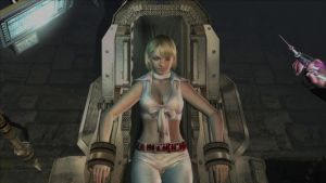 Resident Evil 4 Ashley in the chair. by Themilkguy