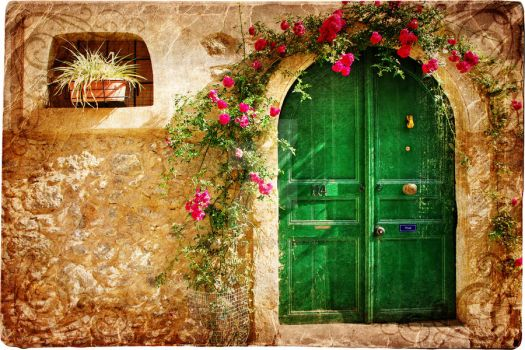 The Door Of Flowers 3 by AraGorN-Sama