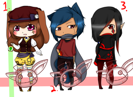 .: Cute adoptables:. :CLOSED: by Rose-Adopts