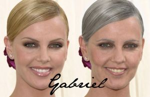 Charlize Theron 1 by GabForLashes