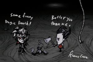 Some Funny Tragic Death by RavenBlackCrow