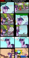 .Comic 19: The Infinite Dream Of Twilight Sparkle. by ZSparkonequus