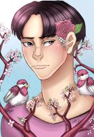 Spring Levi 2 (Contest Entry) by BellaNoel99