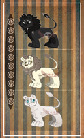 Dem Lions Adopts :2 left-Open: by DemThree-Adopts