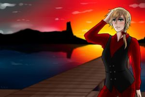 [APH] Nyo!Denmark- 'Centuries' by Ms-Filou