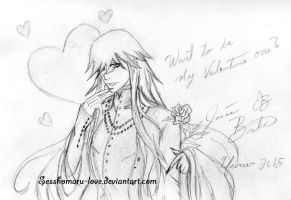 Want to be my Valentine one??? by Sesshomaru-love