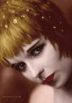 Louise Brooks Ciccione Color by garbobrooks