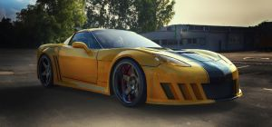 Chevrolet Corvette C6 by TheImNobody