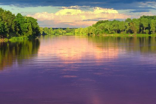 Bug River West Side of Europe by TomaSzSz