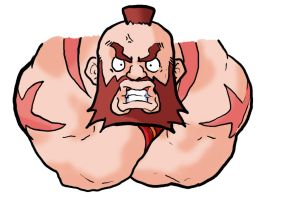 SF: Zangief by Insidious-Ink