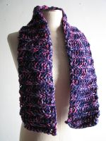 Twilight Sparkle Medium Chunky Scarf by Weeaboo-Warehouse
