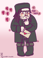 Alfrid knows where Bard lives by girabbit