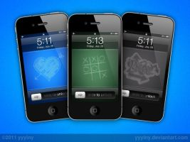 Chalk iPhone Wallpapers Pack by yyylny