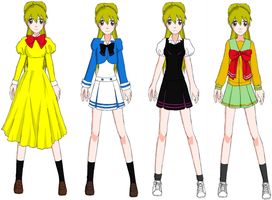 Itoe's Ouran fashion by Rozz-a