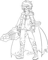 WhiteWolf's Elsword OC (Colorless) by SilverDemon-EME