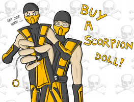 Buy a Scorpion Doll...Or Else. by TriforceTetra
