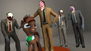 Gamepad And The Payday Guys by thekingofvideogame10