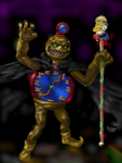 EVIL TIMEMAN COLOR by STEPHEN AUMAN/fvonj by DEVIOUS-DISCORD-RP