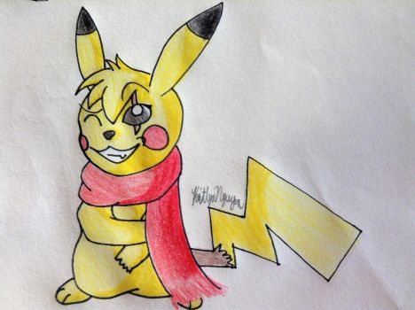 Volt the Pikachu by bestsk8eva