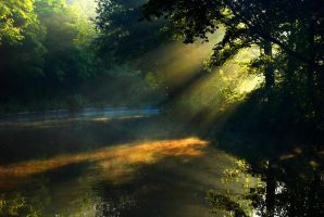 Light on the water by I-Andrew