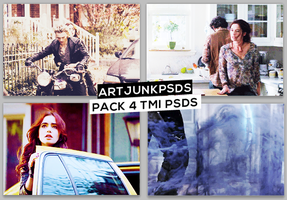 Pack with 4 The Mortal Instruments PSDS by art-psds-junk