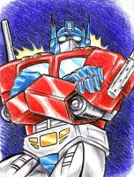 Optimus Prime by blackhellcat