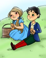chap34 Dorothy and Tip by Centurion030