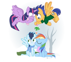 SparkleFlash Mistletoe Mobilisation Team! by dm29