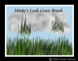Mistie's Lush Grass Brush by MistieWatters