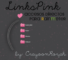 LinksPink Rainmeter by CrayoonzitAw