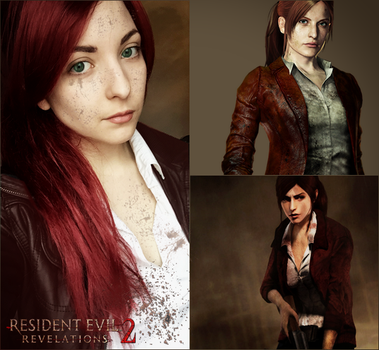 Claire Redfield - Resident Evil Revelations 2 by Dragunova-Cosplay