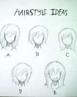 Hairstyle Ideas (For Asako and Natsume) by redhotcinnamontwist