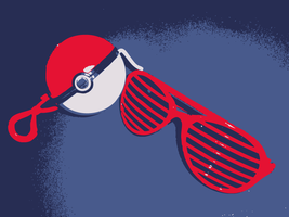 Pokemon Pokeball Sunglasses by POKETAZ