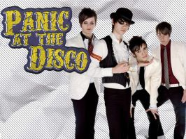 Panic at the disco Wallpaper by angryannoyance