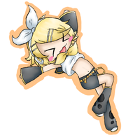 Kagamine Rin Attempt by Hanako01